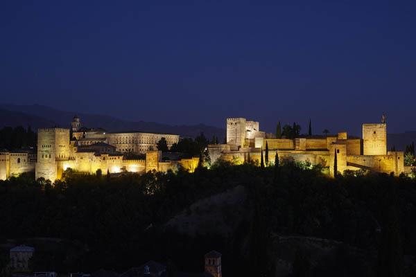 Alhambra desde el Mirador de San Nicolás. Foto: Mark Horn